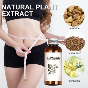 Fat Burning Essential Oil Natural Herbal Slimming Massage Oil Body Weight Loss