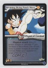 2002 Dragonball Z TCG: World Games #36 Straining Diving Punch Move Card 0n8
