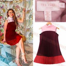 New Ted Baker KIMMEA Pleated Bow Dress