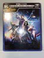 Guardians of the Galaxy 4K Ultra HD, Blu-ray, Digital;  LIMITED STEELBOOK sealed