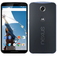 UNLOCKED Motorola Google Nexus 6 XT1103 64GB Midnight Blue Global GSM LTE Phone