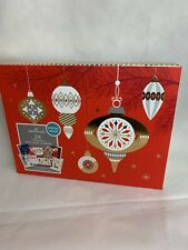 Hallmark Boxed Handmade Christmas Cards Assortment, Set of 24, Holiday - New
