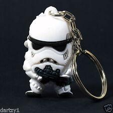 "Star Wars Stormtrooper SD Rubber Key Chain Figure 1"""