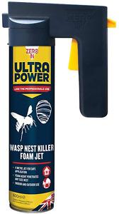 Zero In 600 ml Ultra Power Wasp Nest Killer Foam Jet (Control Nests in the Home