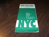 APRIL 1959 NEW YORK CENTRAL NYC NEW ENGLAND FORM 500 PUBLIC TIMETABLE