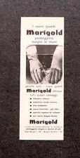 L880- Advertising Pubblicità -1960- MARIGOLD , NUOVI GUANTI