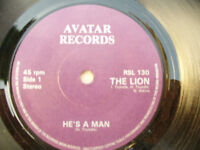 THE LION ep HE'S A MAN / FEAR IN THE NIGHT / SMALLEST THOUGHT avatar 130