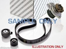 Peugeot 206 2.0 HDi Timing cam belt kit tensioner idler pulley + water pump