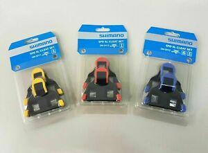 Shimano SPD SL SM-SH10 SM-SH11 SM-SH12 Road Bike Pedal Cleat Set