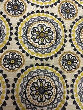 Wove it or Weave it Yellow Geometric Michael Miller Fabric FQ+ More 100% Cotton