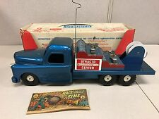 Vintage Structo Mobile Communications Truck #270 Pressed Steel MIB 50's Toy