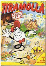 fumetto - TIRAMOLLA ANNO 1991 NUMERO 6