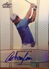 2012 Leaf Golf - Metal Prismatic - Authentic Signature - Anthony Kim