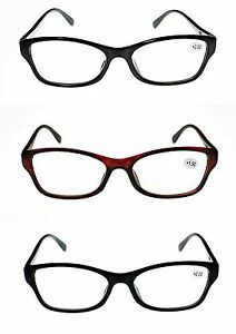 Super Value Reading Glasses Unisex 2021 Super-Lite 3 Colours +1.0 +2.0 +2.5 TN45