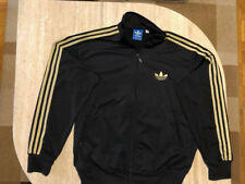 Original Adidas Firebird Jacke schwarz/gold Gr XL Trainingsjacke Vintage Retro
