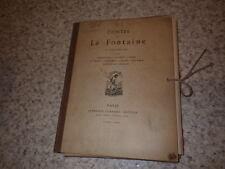 1876.Contes de la Fontaine.Eaux fortes.41 pl..Fragonard.Lancret..Eisen.Boucher