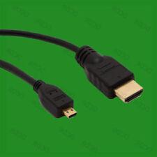 Connecteurs et câbles vidéo standard HDMI mâle avec un connecteur Micro HDMI mâle
