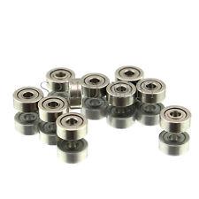 10 PCS MR52zz Mini Metal Double Shielded  Ball Bearings (2mm*5mm*2.5mm)