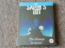 SALEM'S LOT Limited Blu-Ray Steelbook UK Zavvi Exclusive NEW MINT OOP RARE