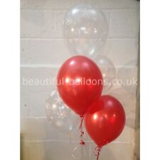 90 x Christmas Snowflakes Pearlised Latex Balloons