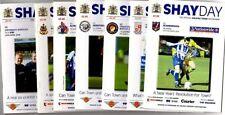 Halifax Town Football Non-League Fixture Programmes (2000s)