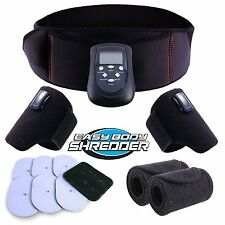 Electric Abdominal Toning Belt Abs Machine Exercise Electronic Workout Free New