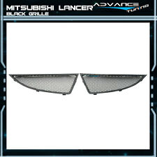 Fit For 04-05 Mitsubishi Lancer JDM Mesh Grille Grill Black OZ New