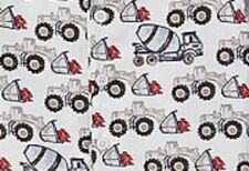New Pottery Barn Kids UNDER CONSTRUCTION Truck PAJAMAS 5 6 boy Cement mixer