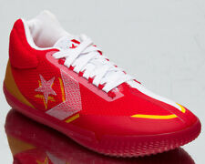 Converse All Star BB Evo Mid Men's Red White Yellow Basketball Sneakers Shoes