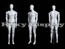 Male Mannequin Dress Form Display With flexible head arms and legs #Mz-Hm01Weg