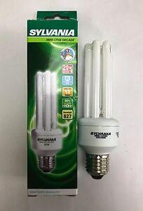 SYLVANIA 20W ES/E27 827 WARM WHITE MINI-LYNX DECADE LOW ENERGY BULB CFL