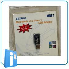 Adaptador NEUS USB Bluetooth V1.2 120 meters Windows 98 XP - Nuevo NOS - Vintage