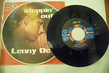 """LENNY DEE""""STEPPIN OUT-disco 45 giri MCA Italy 1971"""""""