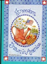 "small garden flag - Freedom - Grown in America - Lowes - 12.5"" x 18"" (#332)"