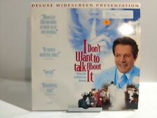 I Don't Want To Talk About It - Laserdisc