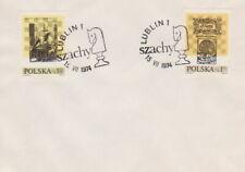 Poland postmark LUBLIN - sport chess