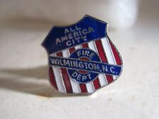vintage Wilmington NC Fire Dept All America City  pin