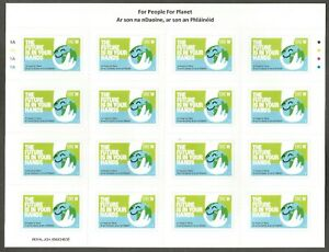 2021 IRELAND NEW ISSUE~FOR PEOPLE FOR PLANET W RATE SELF-ADHESIVE SHEET