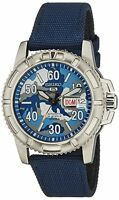 SEIKO 5 Sports Automatic SRP223 SRP223K2 Mens Blue Camouflage Dial 100m Watch