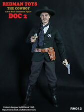 REDMAN TOYS 1/6 Cowboy Light Coat Ver. Doc Holliday RM012 Box_Set Figure
