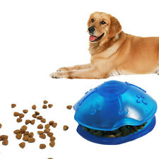 Spinning Top Pet Dog Toys Interactive Food Dispensing Puppy Puzzle Toy