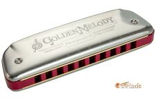 Golden Melody Harmonica by Hohner - KEY of B-flat