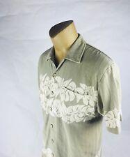 QUICKSILVER Men's Light Green Button Down Shirt Sz. M