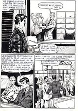 FLASH ESPIONNAGE PLANCHE ORIGINALE AREDIT PAGE 16