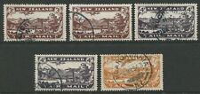 NEW ZEALAND: AIR MAILS CLEARANCE LOT OF FIVE (NZA1)