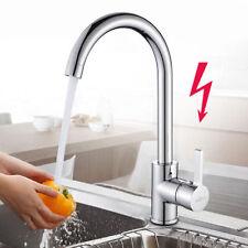 Niederdruck Küchenarmatur Wasserhahn Spültischarmatur Einhebel Mischbatterie DHL