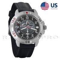 Vostok Russian Military Watch Komandirskie 431831 Mechanical Submarine Commander