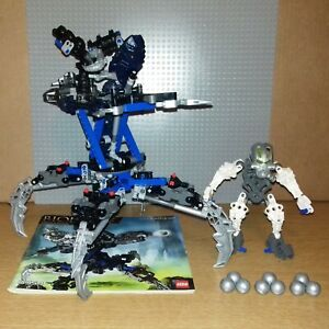 LEGO BIONICLE WARRIORS - 8954 - MAZEKA - GREAT CONDITION, INCLUDES INSTRUCTIONS!