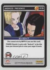 2015 Panini's Dragonball Z TCG - Set 4: Evolution R135 Android Presence Card 0b5