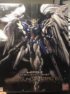 BANDAI High Resolution Model WING GUNDAM ZERO EW Model Kit Endless Waltz NEW USA
